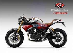 Exclusive Mahindra CR321 Cafe Racer Concept By Oberdan