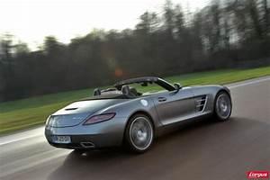 Tesla Porte Papillon : essai vid o mercedes sls amg roadster moteur a glisse l 39 argus ~ Nature-et-papiers.com Idées de Décoration