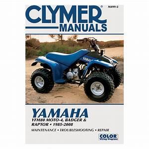 Clymer Repair  Service Manual  U0026 39 85 Badger  Raptor  M499