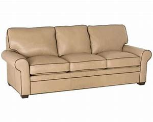 classic leather morgan sofa sleeper 11508 slp set With american home furniture leather sofa