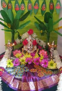 pooja room decoration ideas for varalakshmi pooja room