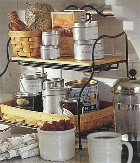 Our Small Baker's Rack Makes An Excellent Breakfast Bar