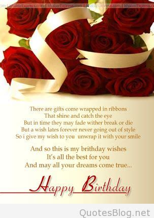 warm happy birthday wishes  closings