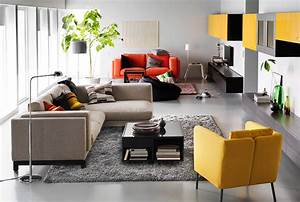 Divide the room unite the family ikea for Ikea furniture living room
