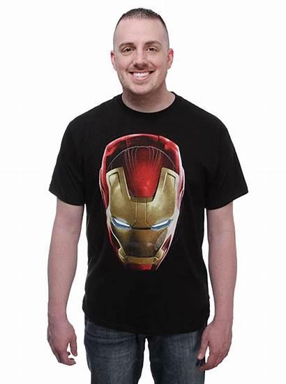 Shirt Dark Iron Glow Ultron Glowing Menace