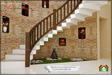 interior design model homes pictures beautiful stair interior design architecture kerala