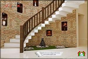 BEAUTIFUL STAIR INTERIOR DESIGN - ARCHITECTURE KERALA
