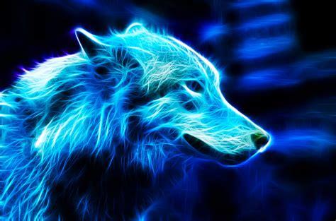 Blue Cool Wolf Wallpaper blue wolf by ikyuvaliantvalentine on deviantart