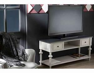 Meuble Tele Gris : meuble t l gris avec niches amadeus ~ Teatrodelosmanantiales.com Idées de Décoration