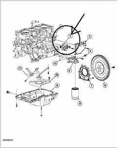 2001 Ford Ranger 4 Cyl  The Coolant Thermostat Needs Replacement  Where In The System Is The