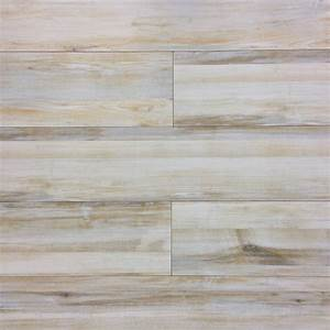 Alberta cream wood look plank porcelain tile nalboor for Porcelain wood tile