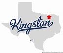 Map of Kingston, TX, Texas