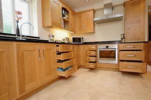 Oak Shaker Kitchen St Davids - Mark Stone's Welsh Kitchens