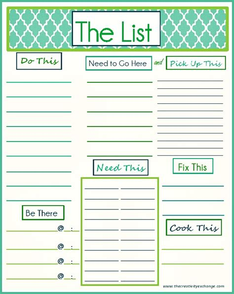 daily to do list template free printable quot to do quot list