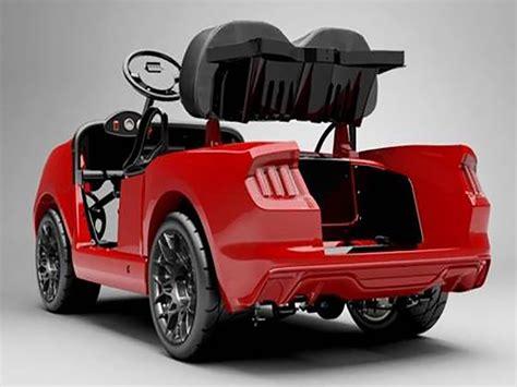 introducing caddyshacks  ford mustang  golf car