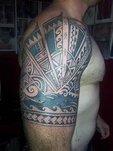 23 Stunning Tribal Half Sleeve Tattoos | Only Tribal