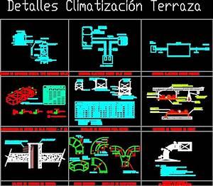 Details Hvac Terrace Dwg Detail For Autocad  U2022 Designs Cad