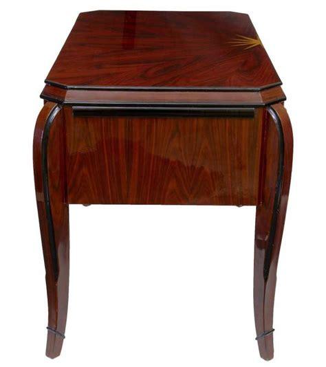 bureau dressing deco vintage desk rosewood bureau plat dressing table