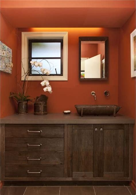 stately country rustic bathroom by tineke triggs on