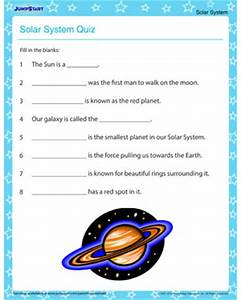 The Solar System Quiz – Free Solar System Printable for ...
