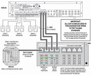 controlling multiple speaker zones with a single keypad With dmc1 wiring diagram
