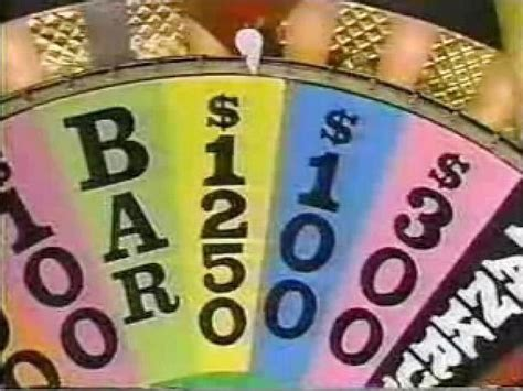 wheel fortune timeline history cash