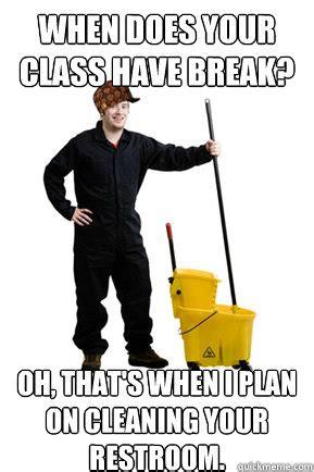 Janitor Meme - scumbag janitor memes quickmeme