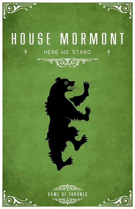 Tom Gateleys Beautiful Minimalist 'game Of Thrones House