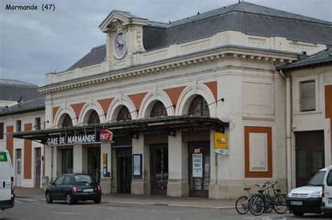 gare mont de marsan 28 images la gare de marmande 47 les gares de et leurs infrastructures