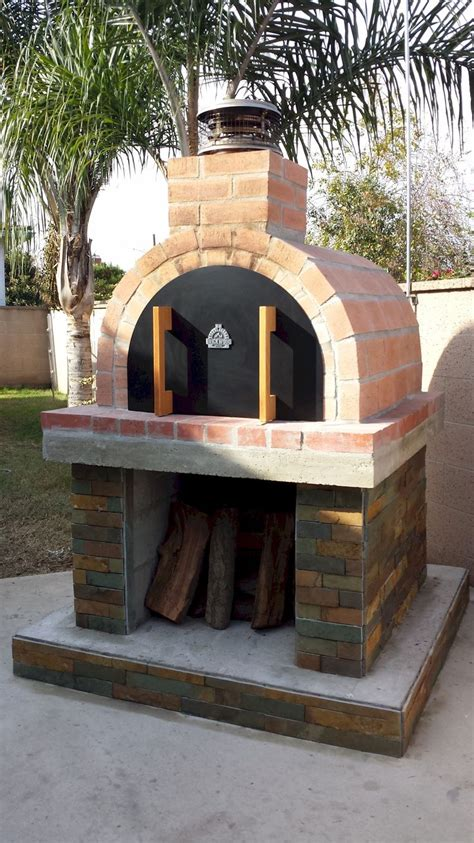 backyard pizza oven 3 generations of sybesma s built this beautiful oven on a