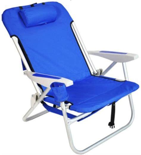chaise de plage pas cher heavy duty sac à dos pliage chaise de plage avec rembourré