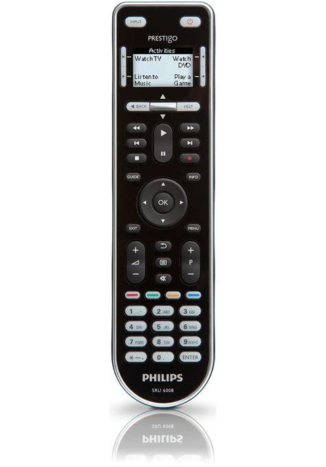 prestigo universal remote control sru philips