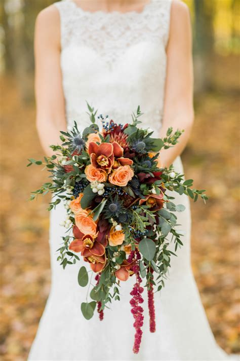 Pumpkins And Rustic Glam Wedding Inspiration Belle The