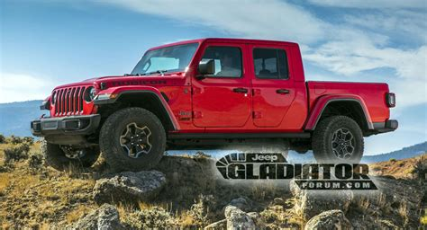 jeep gladiator     wrangler pickup truck youve  waiting  carscoops