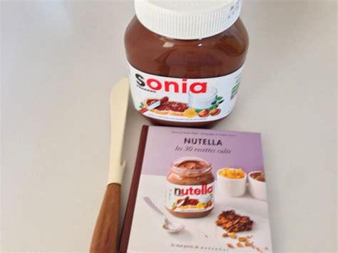 personnalise ton pot de nutella avec ton pr 233 nom click n cook
