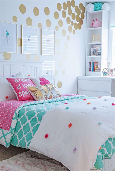 tween girls bedroom makeover reveal tidbitstwine