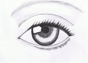 human eye drawing easy source | liked | Pinterest | Human ...