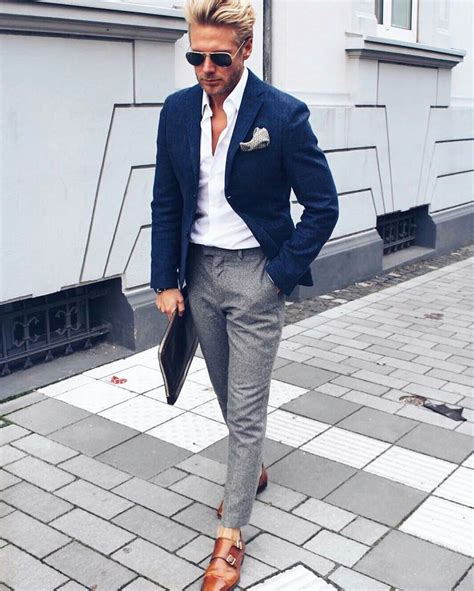 Best 25+ Casual suit ideas on Pinterest | Mens dress outfits Menu0026#39;s business outfits and Suits ...