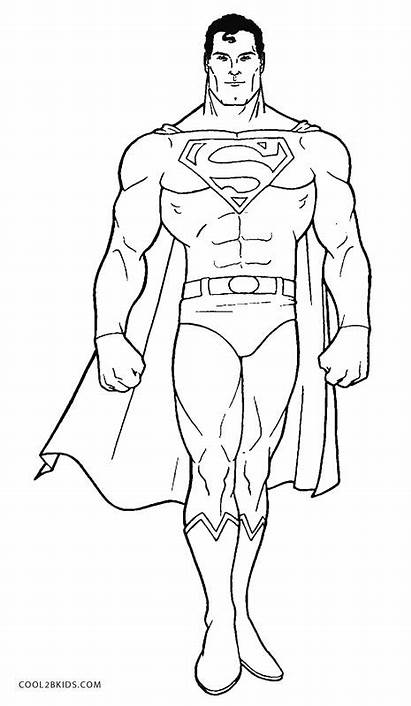 Superman Coloring Pages Printable Cool2bkids