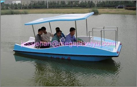 Where To Buy Electric Boat Motor by Fiberglass Electric Boat For 4 5 Person With Best Prices