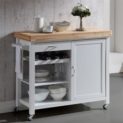 kitchen island with chopping block top denver white kitchen island with solid butcher block top 9428
