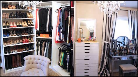 updated closet makeupfilming area  youtube
