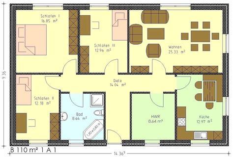 Bungalow 110 Qm Grundrisse by Bungalow 110 Qm Grundrisse Ihr Traumhaus Ideen