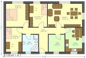 Bungalow Grundriss 130 Qm : home ~ Orissabook.com Haus und Dekorationen