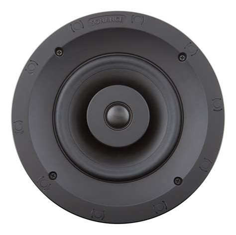 sonance in ceiling speakers sonance visual performance vp60r in ceiling speaker pair