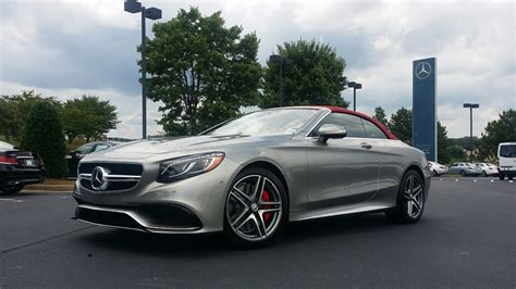 Find deals on r63 amg in automotive on amazon. 2017 Mercedes Benz S-Class Cabriolet (Mercedes-AMG S63 Edition 130) Tech Review - YouTube