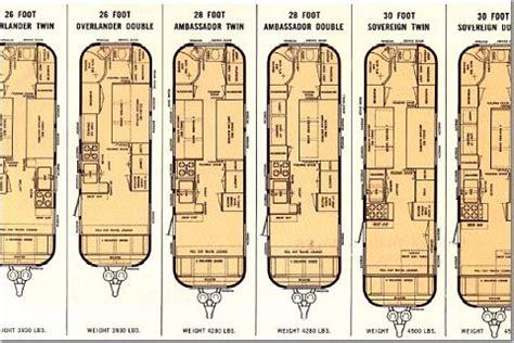 Airstream Trailer Floorplans | Land Yacht Floorplan ...