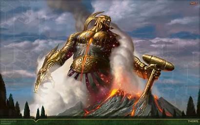 God Magic Forge Purphoros Chamber Modern Genesis