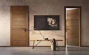 Porte En Bois Intérieur : cuisine porte int rieure moderne en bois montpellier ~ Dailycaller-alerts.com Idées de Décoration