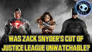 Was Zack Snyder's cut of JUSTICE LEAGUE unwatchable? - YouTube